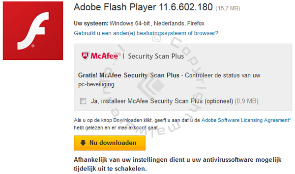 Adobe Flash Player downloaden